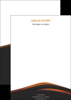 exemple affiche web design gris fond gris orange MLGI73620