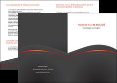 impression depliant 2 volets  4 pages  web design gris fond gris gris metallise MLIG73954