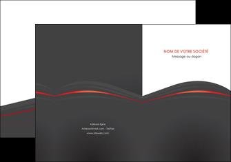 imprimerie pochette a rabat web design gris fond gris gris metallise MLGI73960