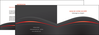 creer modele en ligne depliant 2 volets  4 pages  web design gris fond gris gris metallise MLIG73964