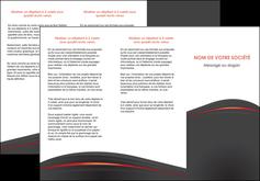 personnaliser maquette depliant 3 volets  6 pages  web design gris fond gris gris metallise MLGI73974