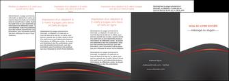cree depliant 4 volets  8 pages  web design gris fond gris gris metallise MLGI73996