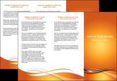 realiser depliant 3 volets  6 pages  web design texture contexture structure MLGI74182