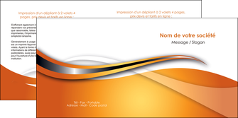faire modele a imprimer depliant 2 volets  4 pages  web design texture contexture structure MLGI74186