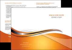 impression depliant 2 volets  4 pages  web design texture contexture structure MLGI74196