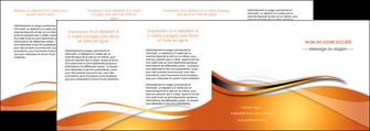 modele depliant 4 volets  8 pages  web design texture contexture structure MLGI74204