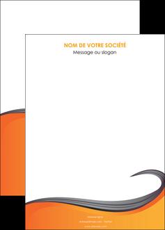modele en ligne affiche orange fond orange couleur MIF74478
