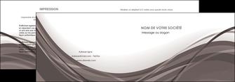 personnaliser maquette depliant 2 volets  4 pages  web design gris fond gris abstrait MLGI74568