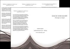 creer modele en ligne depliant 3 volets  6 pages  web design gris fond gris abstrait MLGI74578