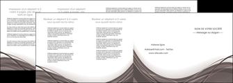 exemple depliant 4 volets  8 pages  web design gris fond gris abstrait MLGI74596