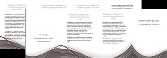 faire modele a imprimer depliant 4 volets  8 pages  web design gris fond gris abstrait MLGI74602