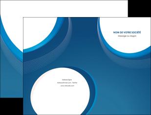 creation graphique en ligne pochette a rabat web design bleu fond bleu couleurs froides MIF74616