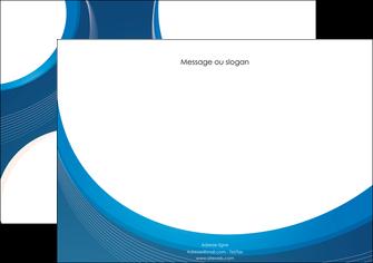 creer modele en ligne affiche web design bleu fond bleu couleurs froides MLIG74626