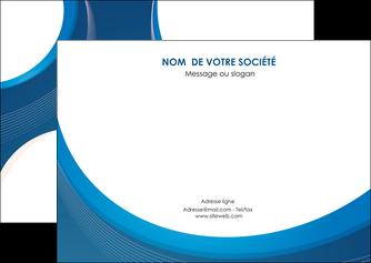 cree flyers web design bleu fond bleu couleurs froides MIF74632