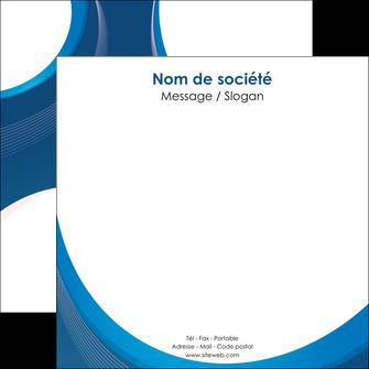 personnaliser maquette flyers web design bleu fond bleu couleurs froides MIF74636