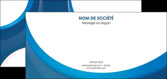 personnaliser maquette flyers web design bleu fond bleu couleurs froides MIF74640