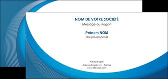 creation graphique en ligne carte de correspondance web design bleu fond bleu couleurs froides MLGI74642