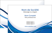 creation graphique en ligne carte de visite web design bleu fond bleu couleurs froides MLIP74656