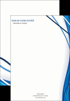 personnaliser maquette affiche web design bleu fond bleu couleurs froides MLGI74662