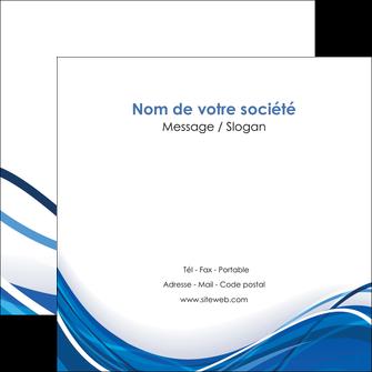 maquette en ligne a personnaliser flyers web design bleu fond bleu couleurs froides MLGI74688