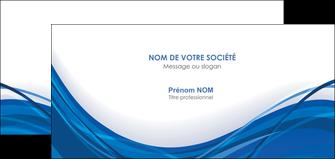 faire modele a imprimer carte de correspondance web design bleu fond bleu couleurs froides MLGI74694