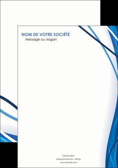 modele flyers web design bleu fond bleu couleurs froides MLGI74702