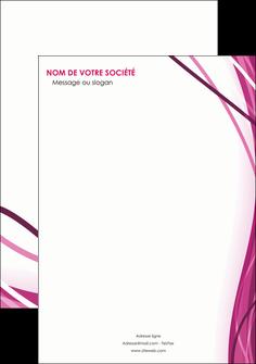 creation graphique en ligne affiche violet fond violet mauve MIF74716