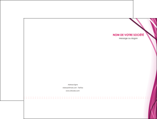 imprimerie pochette a rabat violet fond violet mauve MIF74722