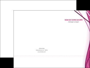 imprimerie pochette a rabat violet fond violet mauve MLGI74722