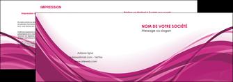 creation graphique en ligne depliant 2 volets  4 pages  violet fond violet mauve MIF74726