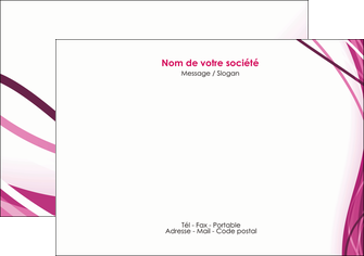 modele flyers violet fond violet mauve MIF74732