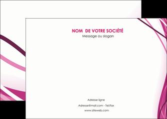 personnaliser modele de flyers violet fond violet mauve MLGI74736