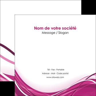 imprimer flyers violet fond violet mauve MIF74740