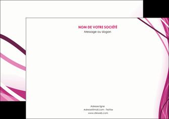 modele flyers violet fond violet mauve MIF74742