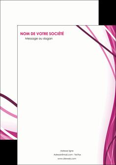 faire modele a imprimer affiche violet fond violet mauve MIF74750