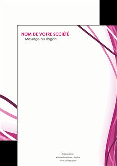 realiser flyers violet fond violet mauve MIF74754