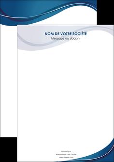 imprimerie affiche web design bleu fond bleu courbes MLIG74818