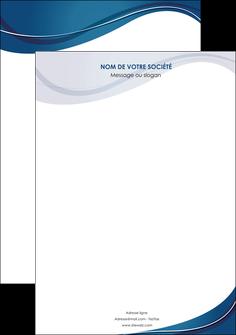 exemple affiche web design bleu fond bleu courbes MLIG74820