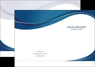 exemple pochette a rabat web design bleu fond bleu courbes MLGI74828