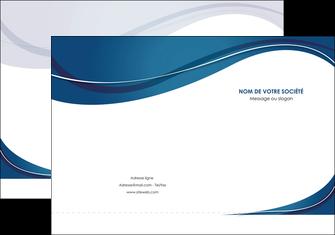 creation graphique en ligne pochette a rabat web design bleu fond bleu courbes MLGI74830