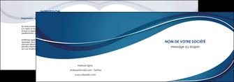 faire modele a imprimer depliant 2 volets  4 pages  web design bleu fond bleu courbes MLGI74832