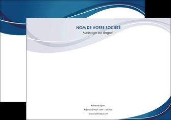 exemple affiche web design bleu fond bleu courbes MLIG74836