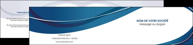 d pliant 2 volets 4 pages mod le et exemple bleu fond bleu courbes. Black Bedroom Furniture Sets. Home Design Ideas