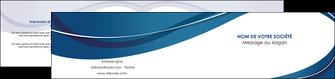 modele en ligne depliant 2 volets  4 pages  web design bleu fond bleu courbes MLGI74852