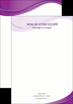 faire modele a imprimer flyers web design violet fond violet couleur MLIG75250