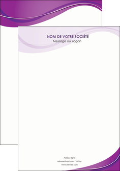 personnaliser modele de affiche web design violet fond violet couleur MLIG75254