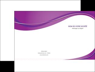 modele en ligne pochette a rabat web design violet fond violet couleur MLIG75260