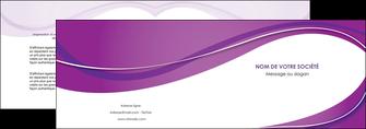 personnaliser maquette depliant 2 volets  4 pages  web design violet fond violet couleur MLIG75262
