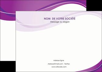 impression flyers web design violet fond violet couleur MLIG75274