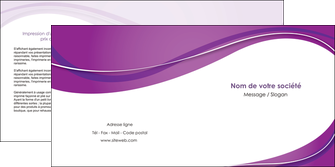 exemple depliant 2 volets  4 pages  web design violet fond violet couleur MLGI75276